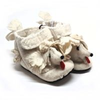 Toddler poodle booties