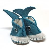 Whale booties