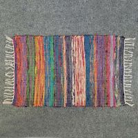 Hand-made silk rug number eight