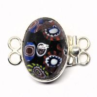 Two-ring German mosaic clasp