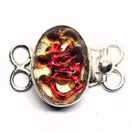 Red wine bracelet clasp