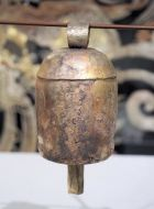 Hand-made copper bell, 6.5 inch