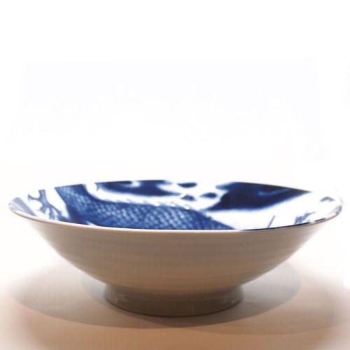 Dragon Pedestal Bowl