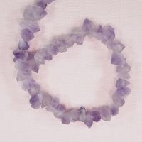 Frosted amethyst chunks