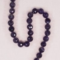 8 mm faceted amethyst round beads