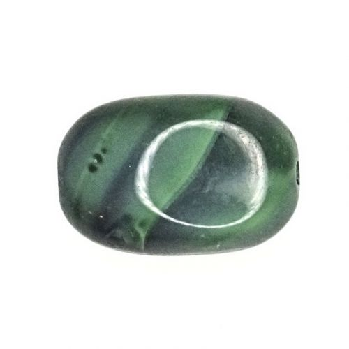 15 mm by 10 mm German glass ovals