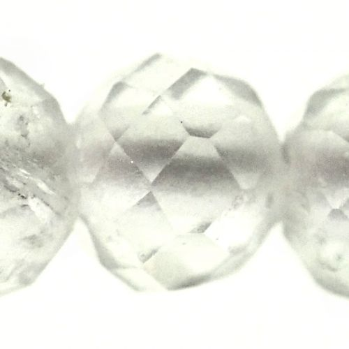 2 mm micro-faceted crystal beads