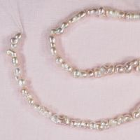 16 mm to 18 mm peachy irregular pearls