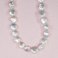 11 mm white coin pearls