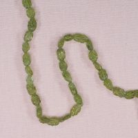 6 mm to 8 mm peridot leaf beads