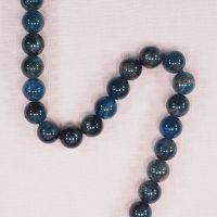 10 mm round apatite beads