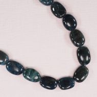 18 mm by 12 mm apatite losenge beads