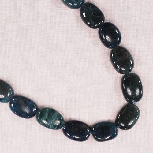 18 mm by 12 mm apatite losenge beads