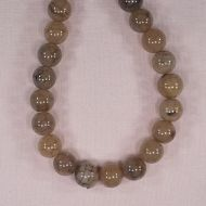 14 mm round fire agate beads