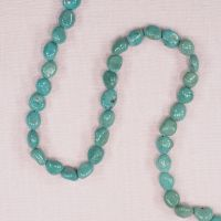 8 mm to 10 mm turquoise nuggets